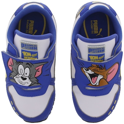 Tênis Puma Cabana Racer Tom & Jerry - Infantil