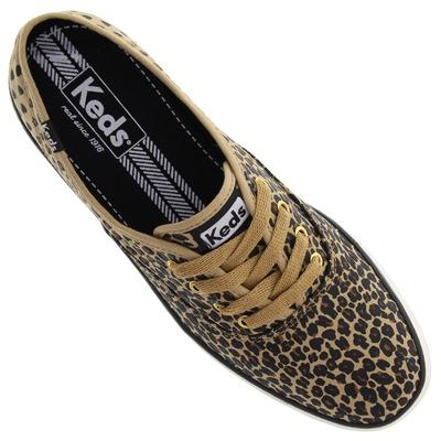 Tênis Keds Champion Leopard Heart - Feminino