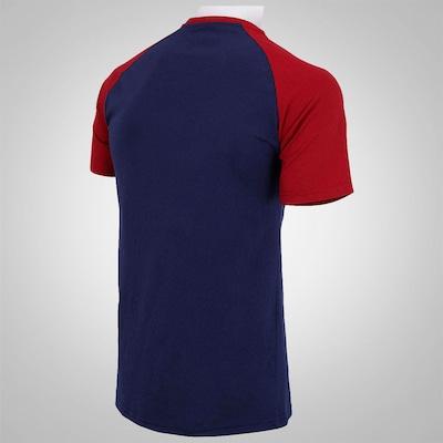 Camiseta Hurley Raglan Pocket - Masculina