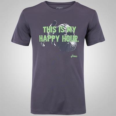 Camiseta Asics Happy Hour - Masculina