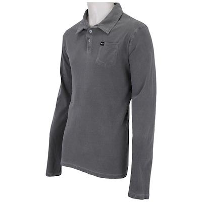 Camisa Polo Manga Longa Oakley Stone - Masculina