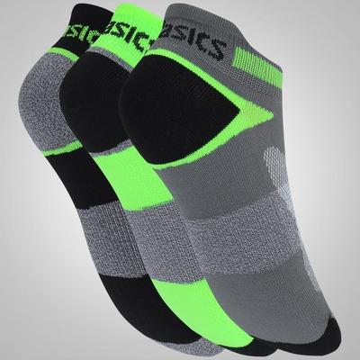Meia Asics Quick Lyte Cush ST Kit com 3 Pares - Adulto