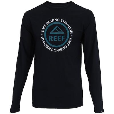 Camiseta Manga Longa Reef Passing – Masculina