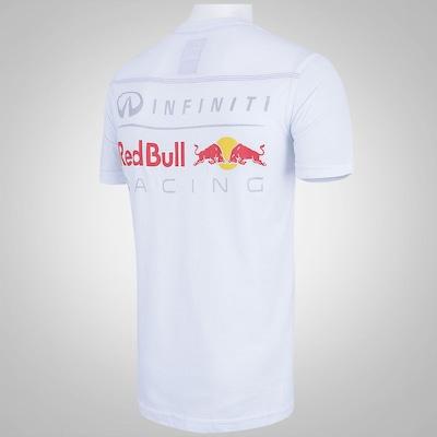 Camiseta Red Bull Double Logo - Masculina