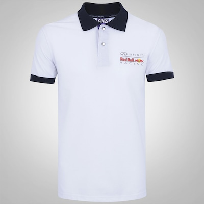 Camisa Polo Red Bull Bicolor - Masculina