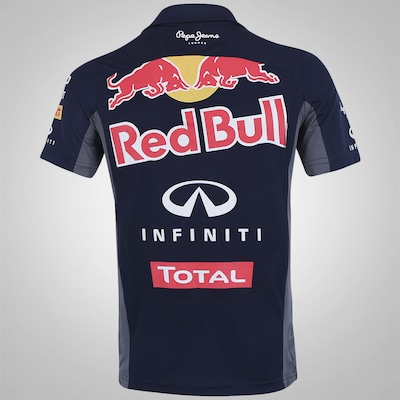 Camisa Polo Red Bull Racing Funcion Teamwear - Masculina