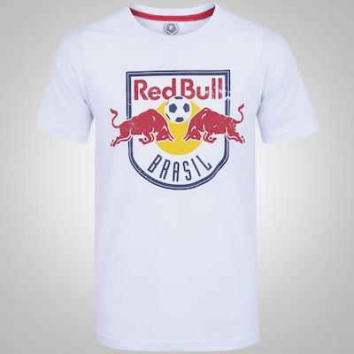 Camiseta do Red Bull Brasil Classic Logo G - Masculina