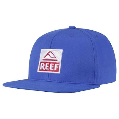 Boné Aba Reta Reef Reef Classic Block - Snapback - Adulto