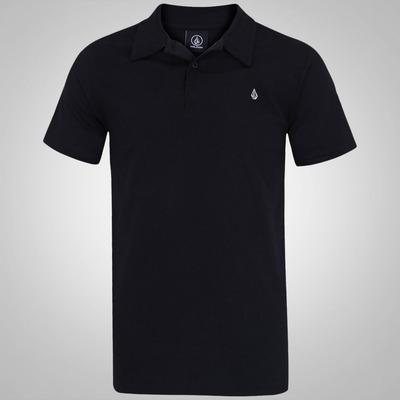 Camisa Polo Volcom Wozer Basic - Masculina