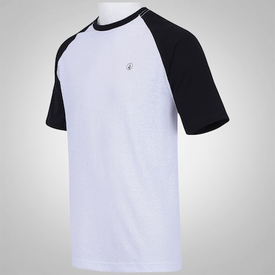 Camiseta Volcom Fall Peaks Raglan - Masculina