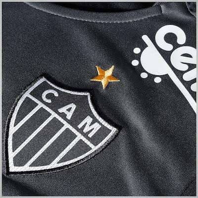 Camisa de Goleiro do Atlético Mineiro I 2015 nº1 Puma