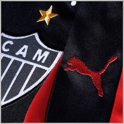 Camisa de Goleiro do Atlético Mineiro III 2015 nº1 Puma
