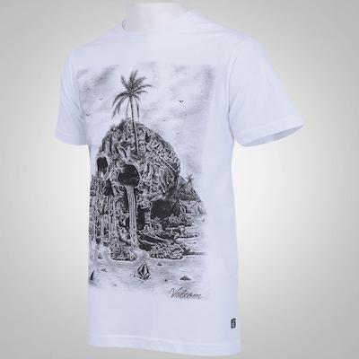 Camiseta Volcom Isla Muerta - Masculina