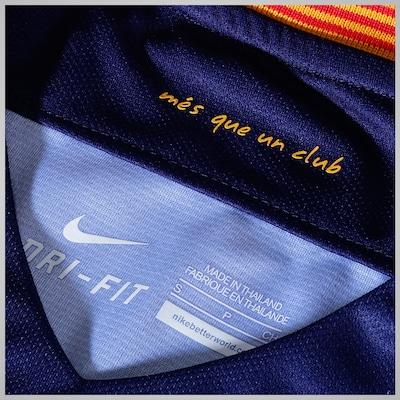 Camisa Barcelona I 15/16 Nike - Masculina