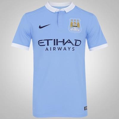 Camisa Manchester City I 15/16 Nike - Masculina