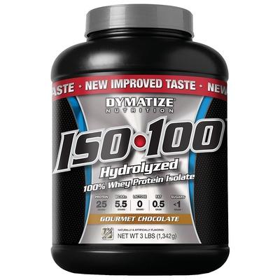 Whey Protein Isolado Dymatize ISO 100 Hydrolyzed - Chocolate - 1,34Kg