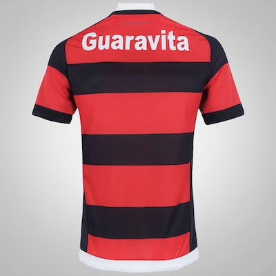 Camisa do Flamengo I 15/16 com Patrocínio adidas - Masculina
