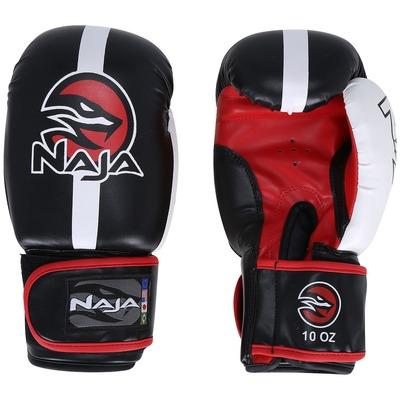 Kit de Boxe Naja Classic com Luva de Boxe 10 OZ, Bandagem e Protetor Bucal - Adulto