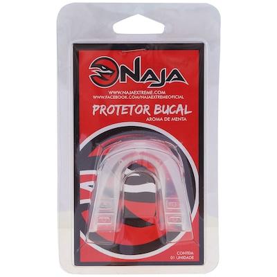 Kit de Boxe Naja Classic com Luva 14 OZ Bandagem e Protetor Bucal - Adulto