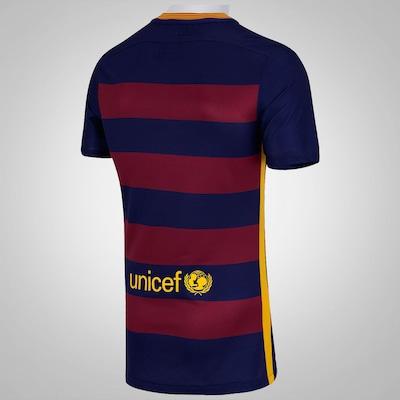 Camisa do Barcelona I 15/16 s/n° Nike - Jogador
