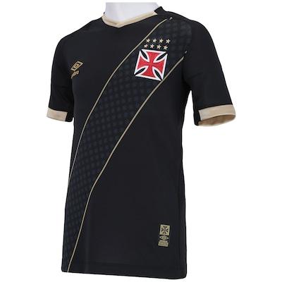 Camisa Umbro Vasco III 15 - Infantil