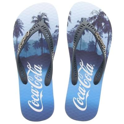 Chinelo Coca-Cola Palms - Masculino
