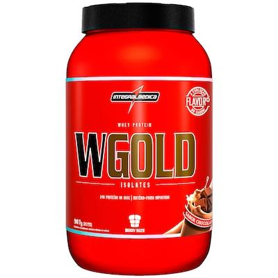 Whey Protein Integralmédica WGold Isolates - Chocolate - 907g