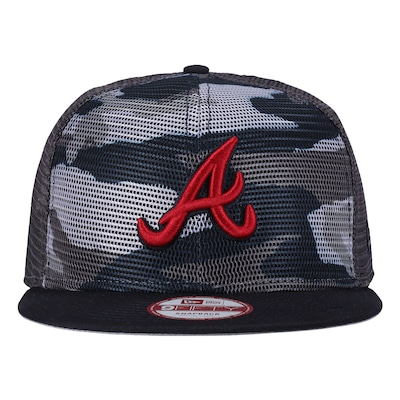 Boné Aba Reta New Era Atlanta Braves - Snapback - Trucker - Adulto