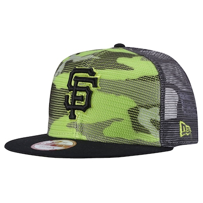 Boné Aba Reta New Era San Francisco Giants - Snapback - Trucker - Adulto