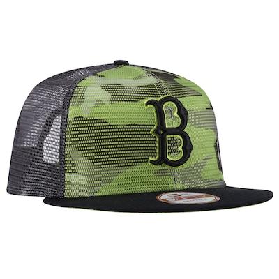 Boné Aba Reta New Era Boston Red Sox - Snapback - Trucker - Adulto
