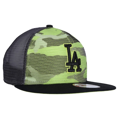 Boné Aba Reta New Era Los Angeles Dodgers - Snapback - Trucker - Adulto