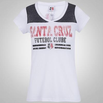 Camiseta Braziline Santa Cruz Ídolo - Feminina