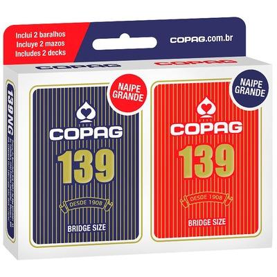 Baralho COPAG 139 Cartucho Duplo
