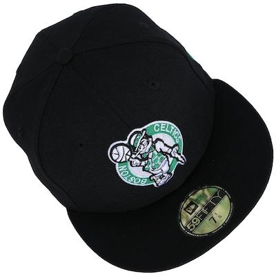 Boné New Era Boston Celtics - Fechado - Adulto