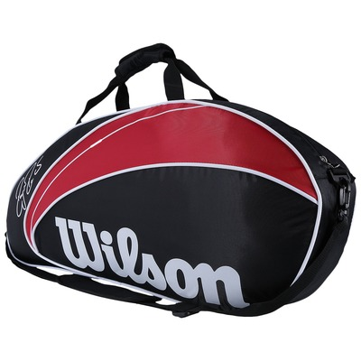 Raqueteira Wilson Federer 3 Pack - Adulto