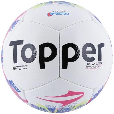 Bola de Futebol de Campo Topper KV Carbon 12 RJ 15