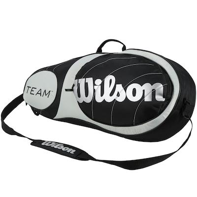 Raqueteira Wilson Team 3 Pack - Até 3 Raquetes