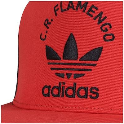 Boné Aba Reta adidas Flamengo Originals - Snapback - Trucker - Adulto