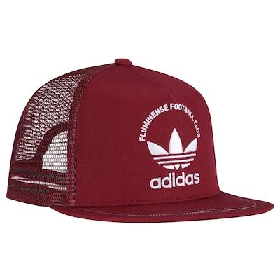 Boné Aba Reta adidas Originals Fluminense - Snapback - Trucker - Adulto
