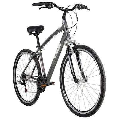 Bicicleta Caloi 700 - Aro Parede Dupla - Câmbio Traseiro Shimano - 21 Marchas