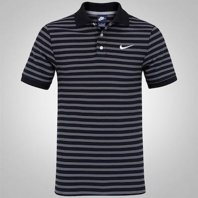 Camisa Polo Nike Match Up Mini Stripe - Masculina