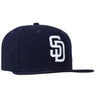 Boné Aba Reta New Era San Diego Padres - Fechado - Adulto