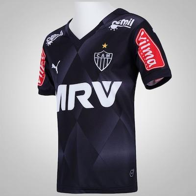 Camisa do Atlético Mineiro III 2015 nº 10 Puma - Infantil