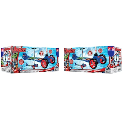 Patinete Bandeirante Skatenet Avengers - Infantil