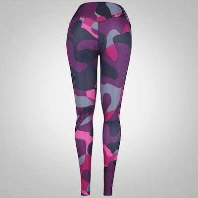 Calça Legging Estampada Nike Legend 2 Mega Liquid - Feminina