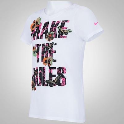 Camiseta Nike Make The Rules - Infantil