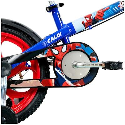 Bicicleta Caloi Spider Man - Aro 16 - Infantil