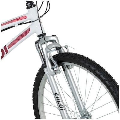 Bicicleta Caloi 100 Sport - Aro 26 - Freio V-Brake - Feminina