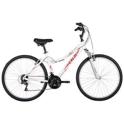 Bicicleta Caloi Rouge - Aro 26 - Freio V-Brake - 21 Marchas - Feminina