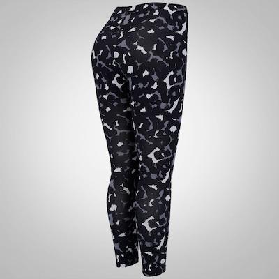 Calça Legging Estampada Nike Club Cropped - Feminina